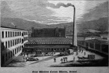 British Cotton Works, mid-1800s