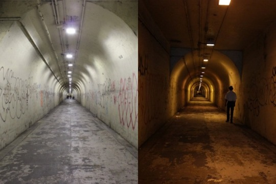 Creepy Tunnel at 191st St New vs Old - DNAInfo