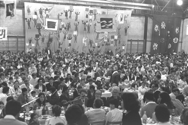 Passover Seder for 1500 People, 1971, Israel