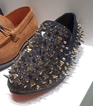 Spiky shoes. Ouch! © JustHavingFun